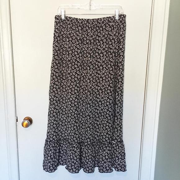 Vintage Dresses & Skirts - Vintage Maxi Skirt